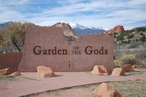 Garden Of Colorado Garden Of The Gods Colorado Springs Colorado Pursuitist