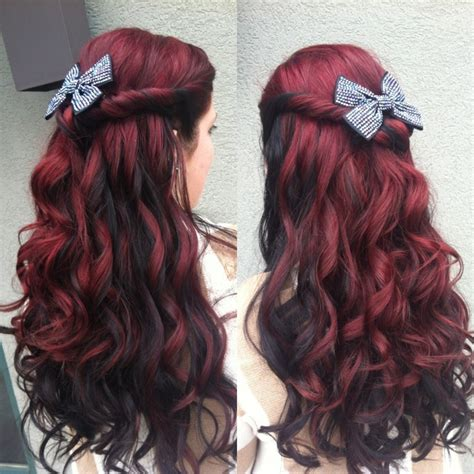 hairstyles different colours latest fad of red hairs in stunning styles hairzstyle