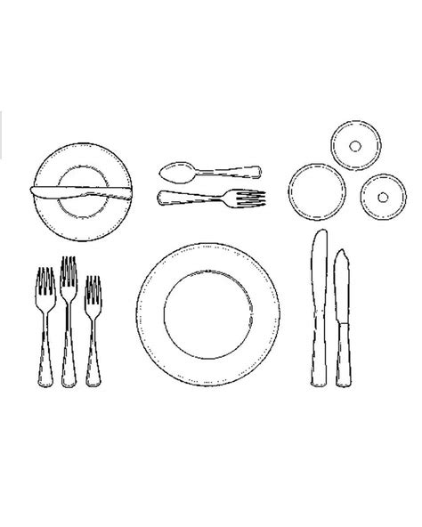 formal table setting layout how to set a formal dinner table martha stewart