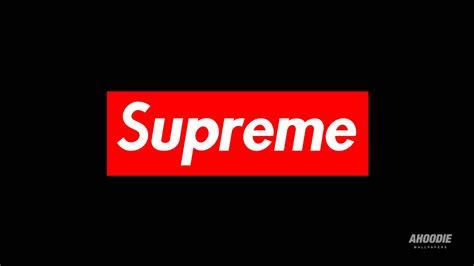 supreme logo supreme supreme wallpaper