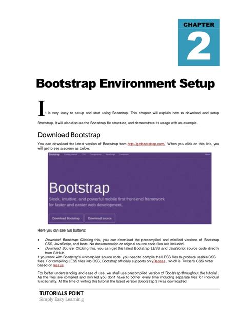 bootstrap template tutorial bootstrap tutorial