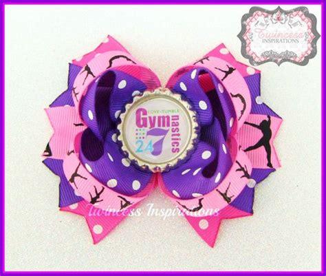 ribbon for hair that says gymnastics ribbon for hair that says gymnastics personalized
