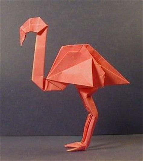 Flamingo Origami - origami flamingo flamingo