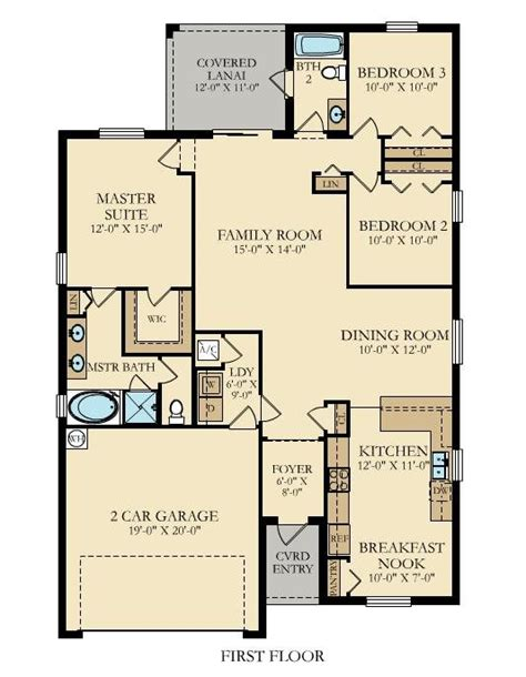 new home plan in vida executive homes by lennar