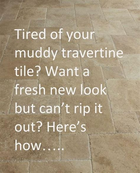 Travertine Floors: Learn How To Update Their Look ? DESIGNED