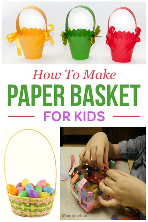 How To Make A Basket Out Of Paper - 1000 images about craft ideas on crafts