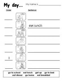 free daily routine worksheet coloring pages