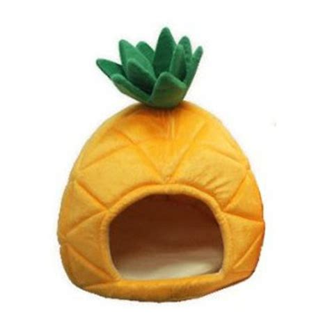 pineapple dog bed fruity friday pineapple pet beds from yml