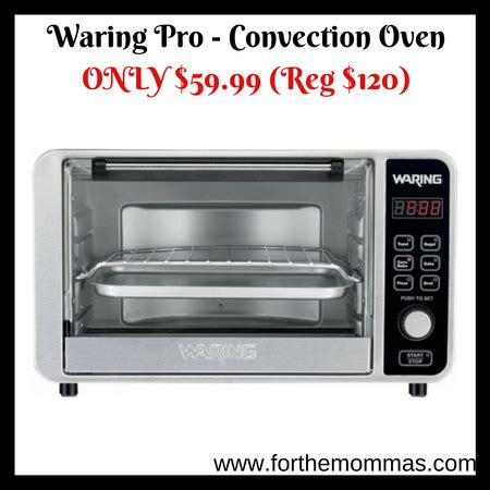 Waring Pro Toaster Oven Toaster Waring Pro Convection Toaster Pizza Oven Only 59 99
