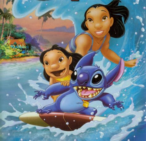 Lilo Stich someone somewhere drawings that approach the