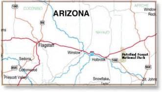 holbrook arizona map holbrook arizona desertusa