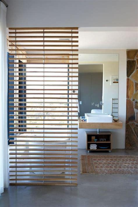 wooden room dividers  elegant home interior
