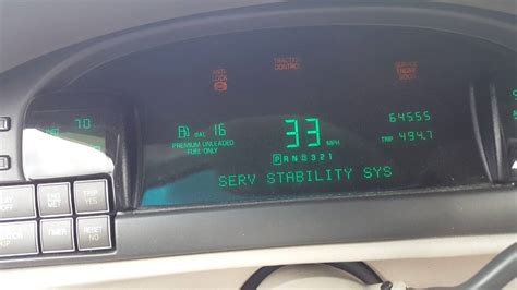 1999 cadillac deville gauge mph just keeps going crazy youtube