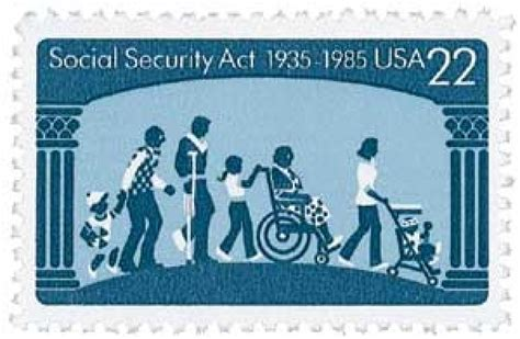 1985 22c social security act for sale at mystic st company