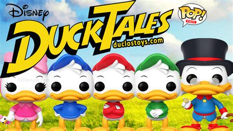 Funko Pop Disney Ducktales Huey Duck duclos toys figures collectibles toys
