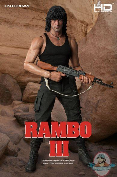 rambo film theory hd masterpiece rambo iii 1 4 scale figure by enterbay