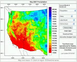 arizona map temperature