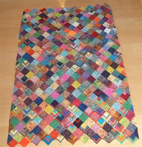 Decke Aus Quadraten Stricken by Restedecke Sockenwolle Aus Kleinen Quadraten Handarbeit