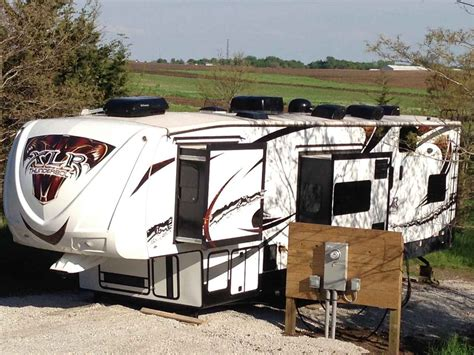 2013 Used Forest River XLR THUNDERBOLT 380AMP Toy Hauler in Iowa IA