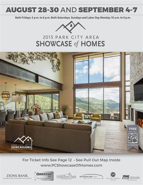 issuu 2015 park city area showcase of homes by utah