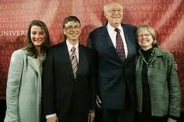 Pics photos bill gates pictures with his family