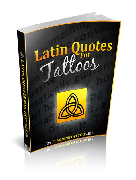 latin tattoo book meaningful latin quotes for tattoos quotesgram