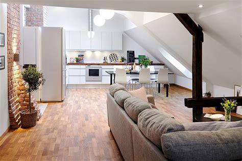 Loft Appartment by Unique Loft Apartment In Sweden Idesignarch Interior