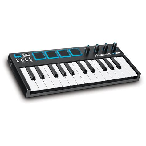 Keyboard Midi alesis v mini 25 key midi keyboard controller at gear4music