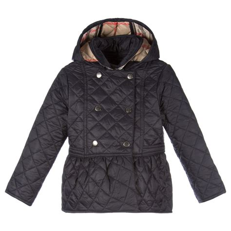 Baby Quilted Coat by Burberry Baby Black Quilted Jacket Childrensalon