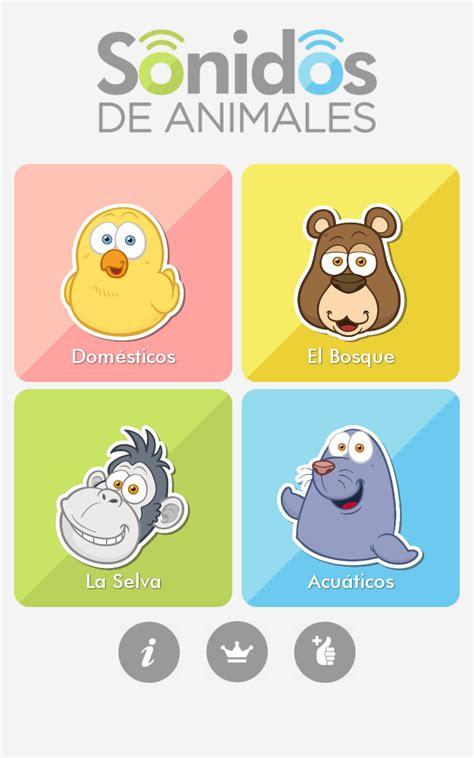 imagenes de animales y sonidos te presentamos la nueva app de sonidos de animales de