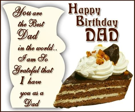 Happy Birthday Cards For Dads Good Happy Birthday Wishes For Dad