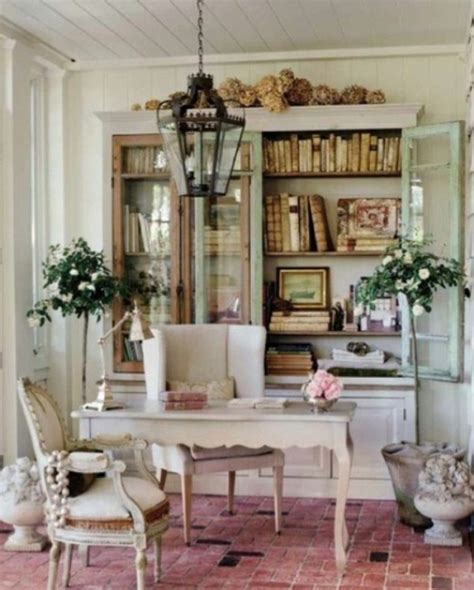 Shabby Chic Home Office Furniture 45 Charming Vintage Home Offices Digsdigs