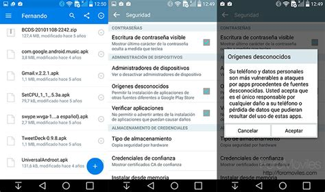 android apks c 243 mo instalar un apk en android de forma manual