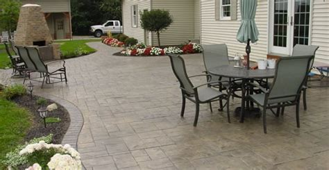 Concrete Patio Designs Layouts Plans For Concrete Patios