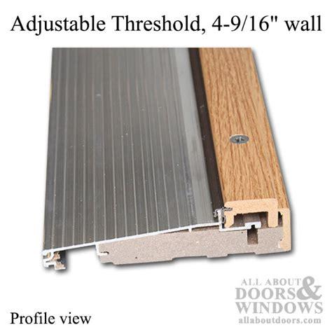 Exterior Door Threshold Parts Adjustable Door Threshold Adjustable Threshold All About Doors