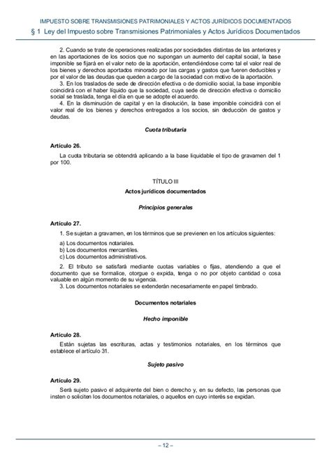 impuesto sobre transmisiones patrimoniales y actos boe 065 impuesto sobre transmisiones patrimoniales y actos