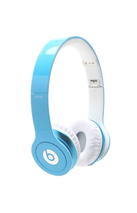 beats light blue beats by dr dre hd light blue headphones i want