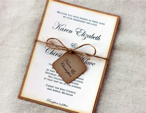 do it yourself wedding invitation templates wedding