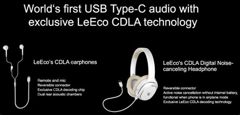 Leeco Earphone Usb Type C With Mic For Letv Smartphone leeco le 2 android authority