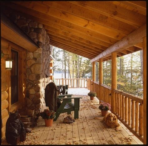Cozy Log Cabin Porch Home Inspirtations Pinterest | cozy log cabin porch home inspirtations pinterest