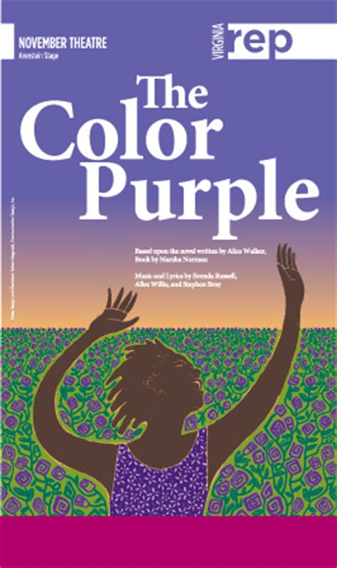 how does the color purple book end virginia rep the color purple 2014