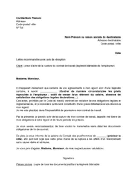 Lettre De Résiliation Mobile La Poste letter of application mod 232 le de lettre de r 233 siliation de