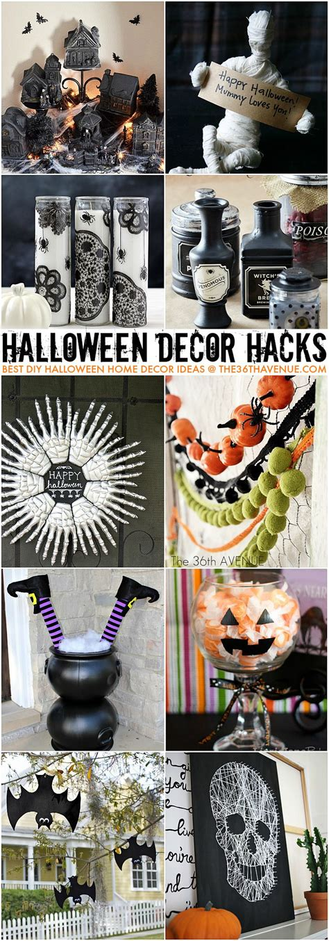 halloween decor hacks   avenue