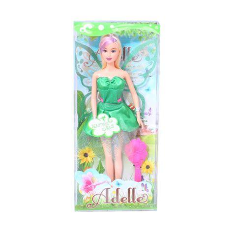 Mainan Boneka Perempuan Plus Dorongan Mainan Kado Anak Murah aneka mainan anak 1 tahun mainan toys