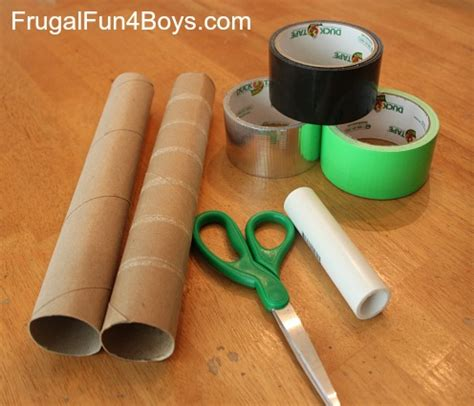 How To Make A Paper Lightsaber - duct lightsabers craft frugal for boys and