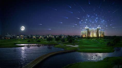 imagenes de paisajes de 1920x1080 paisaje nocturno 3d 1920x1080 fondos de pantalla y