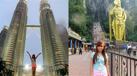 vlog trip  singapore  malaysia youtube