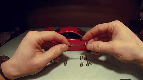 what is a model car how to lower the suspention on a 1 18 scale model car