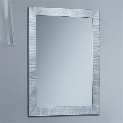 parete a specchio per ingresso specchio rettangolare da ingresso consuelo arredaclick