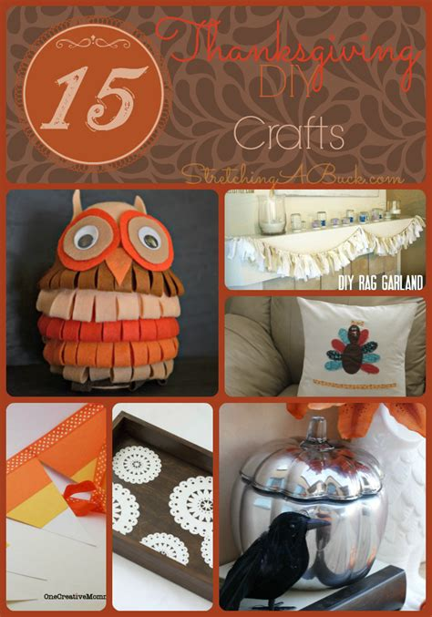 diy crafts for thanksgiving 15 thanksgiving diy crafts thanksgiving morning turkey